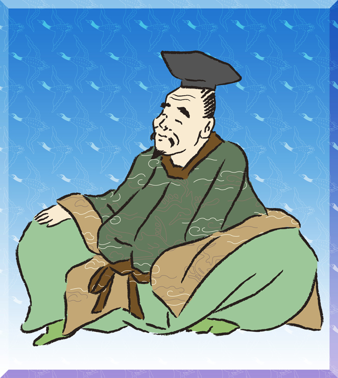 柿本人麻呂(かきのもとのひとまろ)の画像