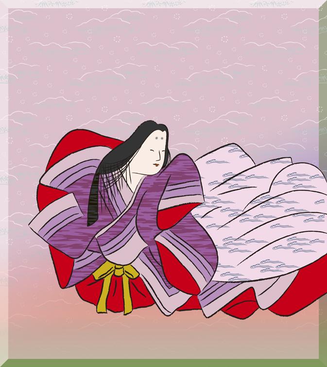 伊勢大輔(いせのたいふ)の画像